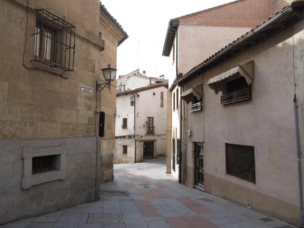 Empty streets during siesta, Spain