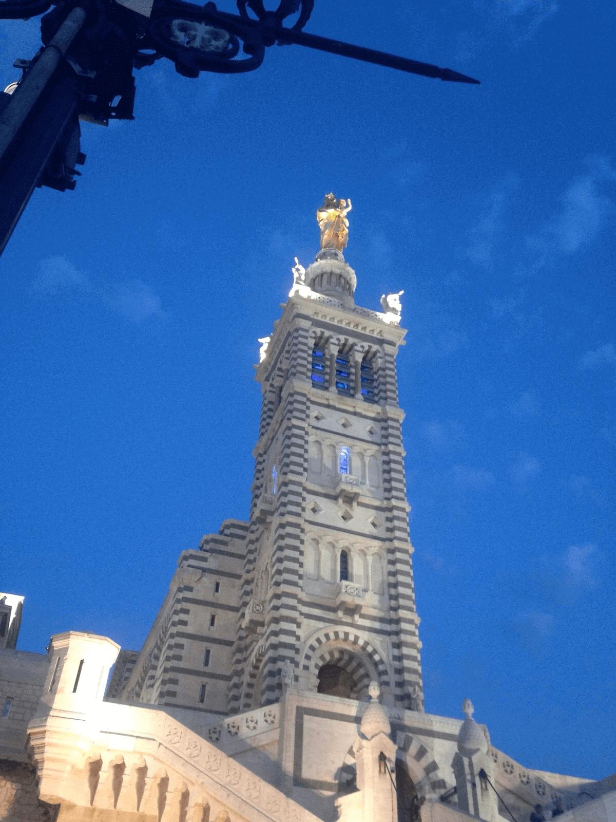 Notre-Dame de la Garde bell tower, Marseille