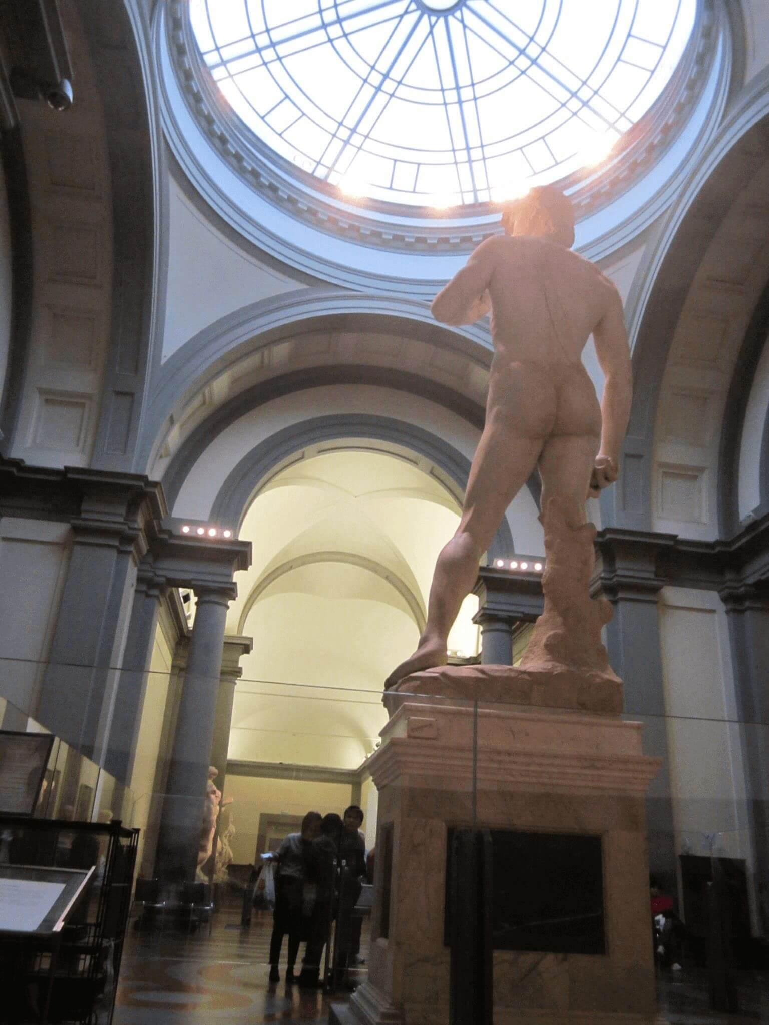 The David inside the Accademia Gallery. Oh, heyyyy
