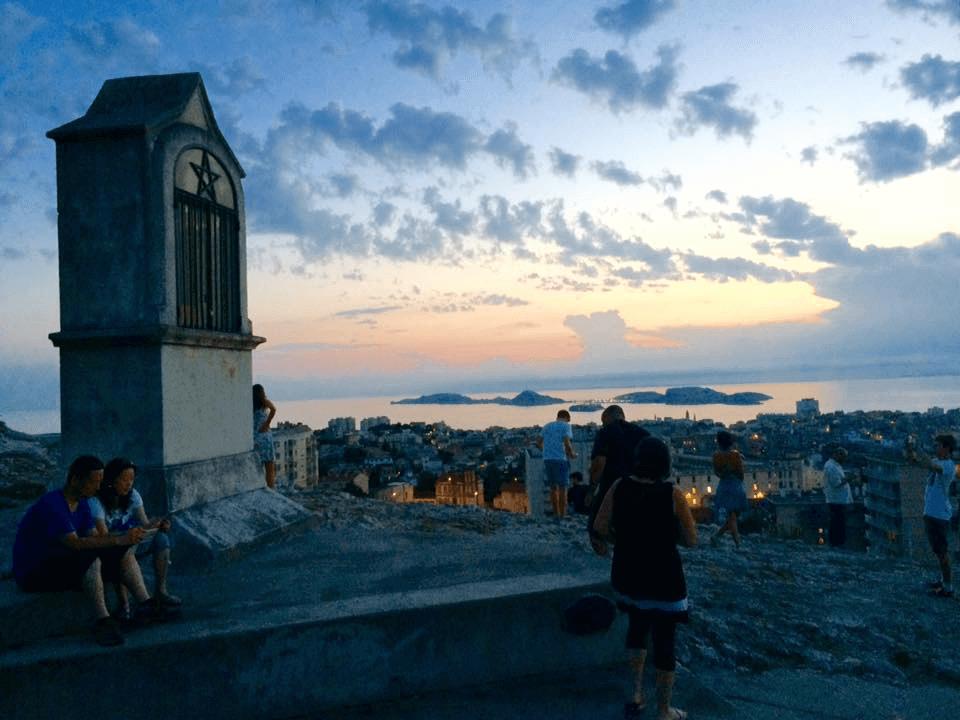View from Notre-Dame de la Garde, Marseille