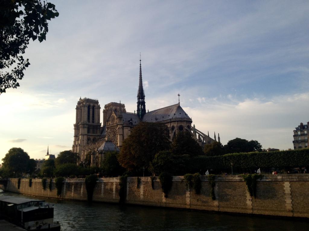 View of Notre Dame from the Pont de l'Archevêché, Paris.