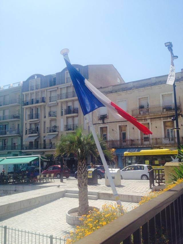Walking along the canals in Sète