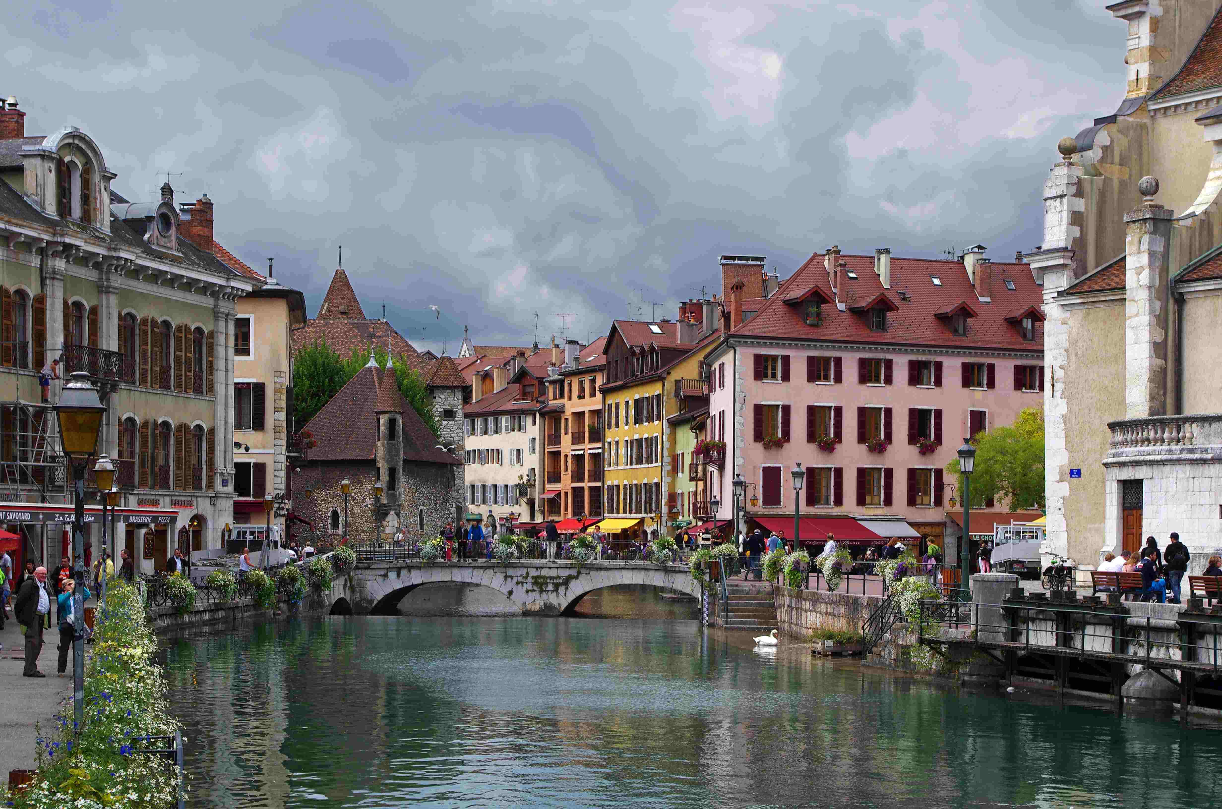 Annecy, France. Taken by Daniel Jolivet via Flickr.