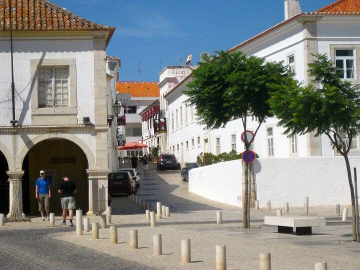 City street, Lagos, Portugal