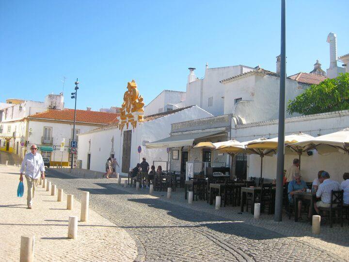 Market street, Lagos, Portugal