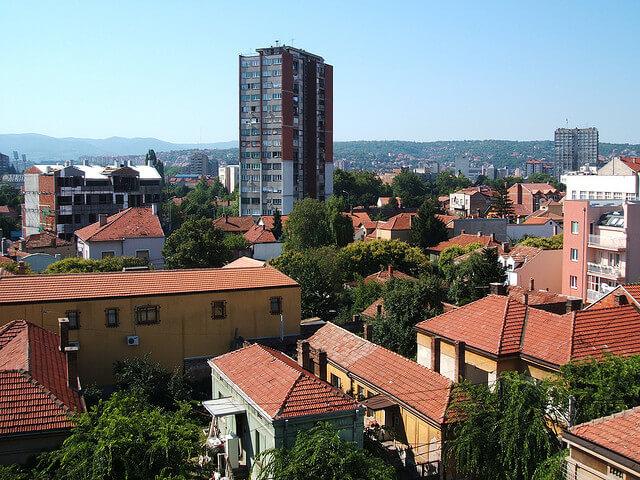 Niš skyline. Taken by Monika via Flickr.