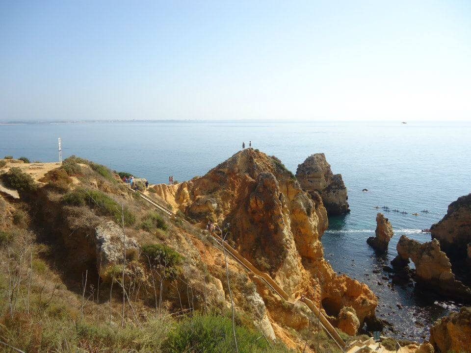 View from the cliffs, Lagos, Portugal
