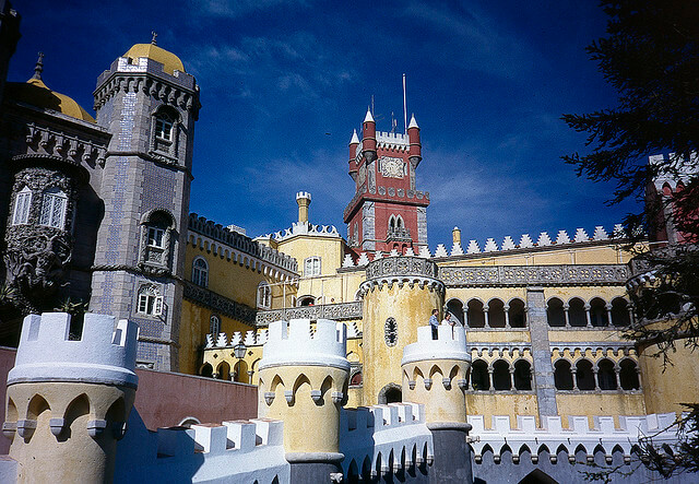Pena National Palace, Sintra. Taken by Peter via Flickr.