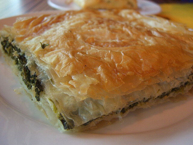 Spanakopita. Taken by Alpha via Flickr.
