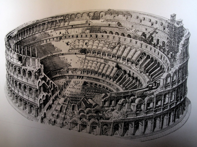 Construction Of The Colosseum