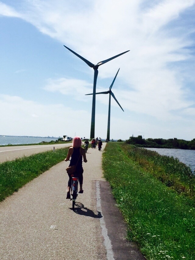 Day trip biking through Waterland near Amsterdam.