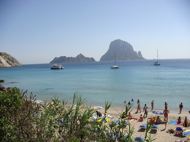 Cala in Ibiza. Taken by Philip Larson via Flickr.