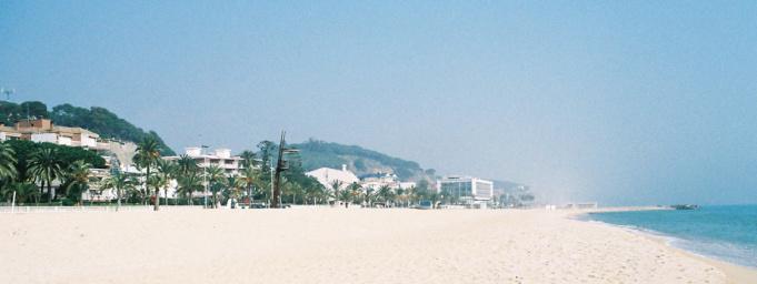Caldetas beach