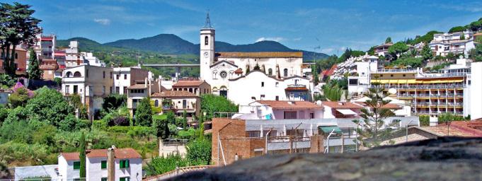 Caldetas town