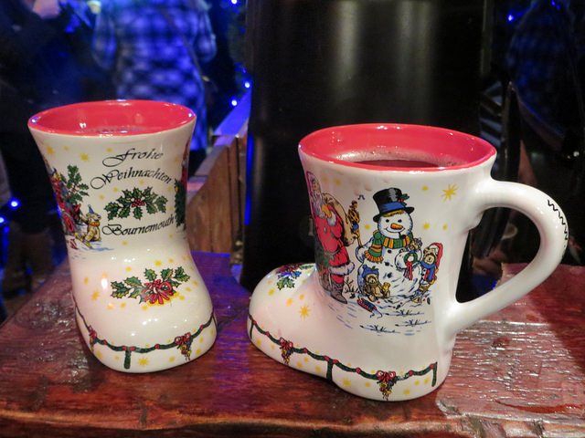 Christmas market mugs. Taken by Alex Liivet via Flickr.