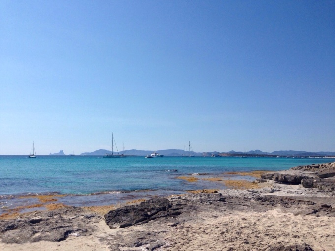 View from Formentera.