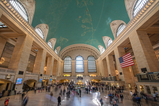 Grand Central Terminal main concourse.