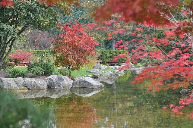 Japanese Garden. Tkaen by opopododo via Flickr.