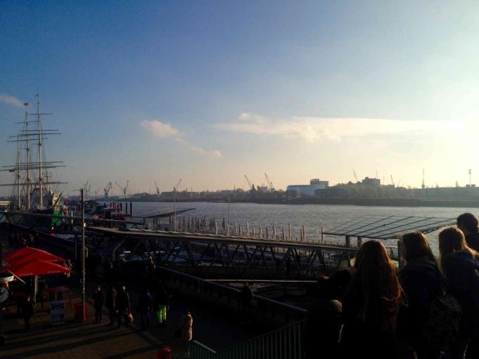 Landungsbrücken harbor