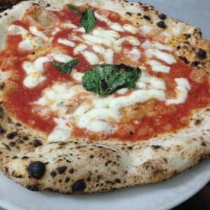 Pizza master at da Michele.