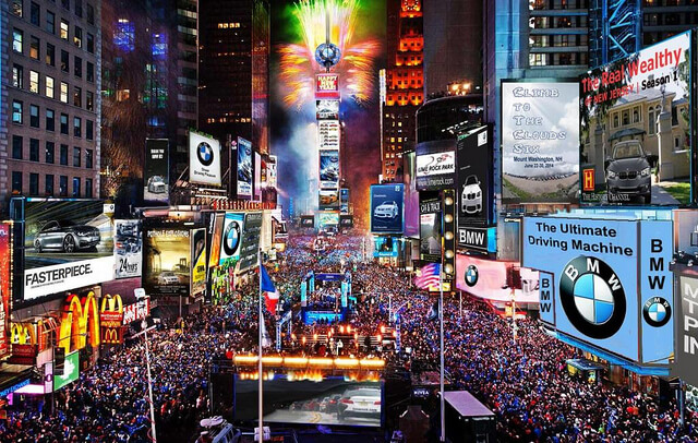 When Does The Ball Drop In Times Square