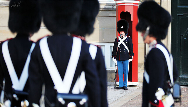 Changing of the Royal Guards. Taken by tsaiproject via Flickr.