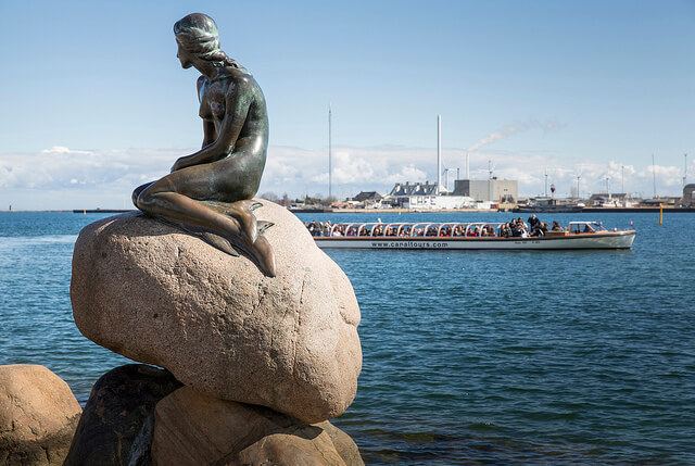 The Little Mermaid. Taken by News Oresund via Flickr.