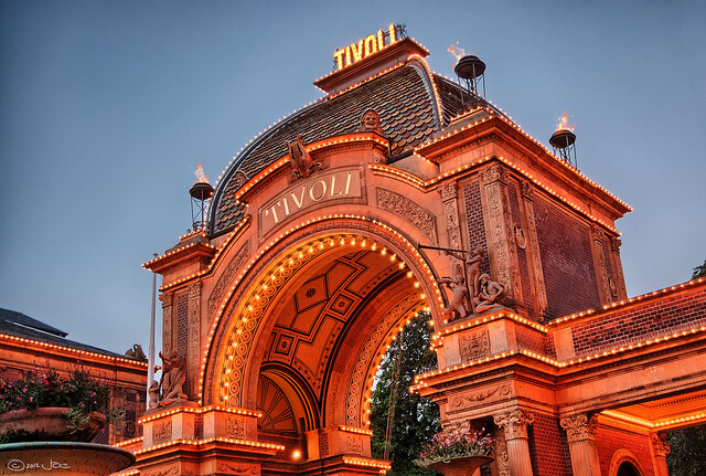 Tivoli Gardens Entrance. Taken by Joe deSousa via Flickr.