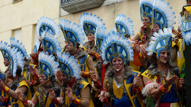 Carnaval in Cádiz. Taken by Alcalaina via Flickr.