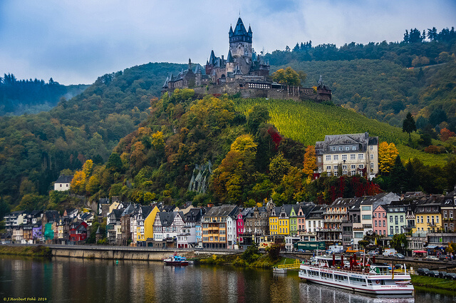 Cochem Castle. Taken by Polybert49 via Flickr.