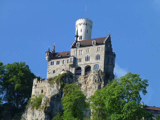 Lichtenstein Castle. Taken by Widget69 via Flickr.