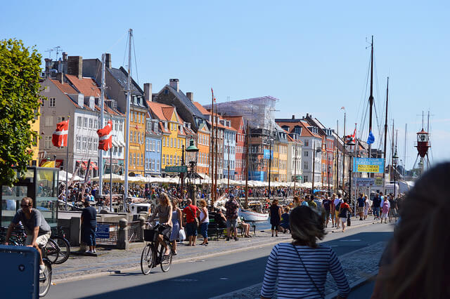 Nyhavn in summer. Taken by Bill Smith via Flickr.