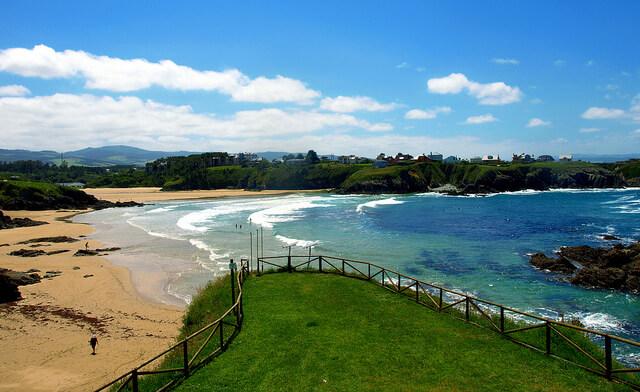 Playa de Anguileiro near Asturias. Taken via Flickr.