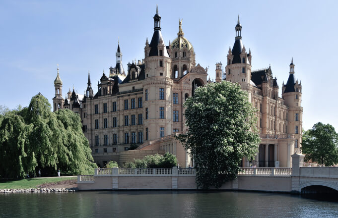 Schwerin Castle. Taken by Michael Behrens via Flickr.