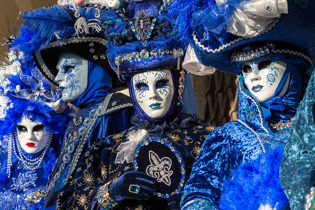 Carnival in Venice. Taken by Salvatore Gerace via Flickr.