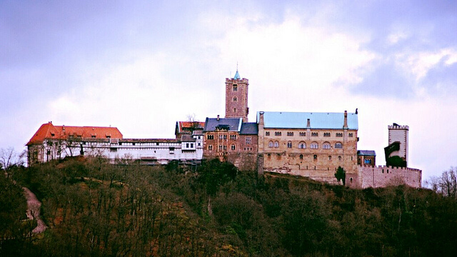 Wartburg Castle. Taken by Lars Gebauer via Flickr.